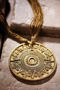 Mayan Necklace Stock Photos