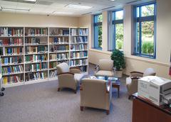 Small Office Library - stock photo