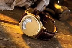 Gold Mechanic's Watch Stock Photos
