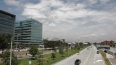 Wide Angle Shot of Eldorado Avenue Stock Footage
