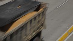 Panoramic Shot of Eldorado Avenue's traffic. Stock Footage