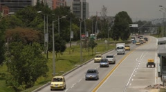 Panoramic Shot of Eldorado Avenue next to Rojas Avenue Stock Footage