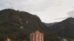 Zoom-Out Shot of Santamaria's Bullfighting Plaza Stock Footage