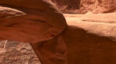 Arches National Park Sand Dune Arch Stock Footage