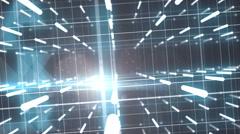 Hypercube 3d Stock Footage