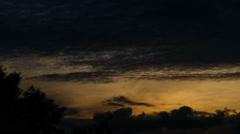 Sunless Sunrise Stock Footage