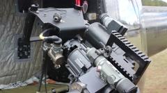 Mini Gun Stock Footage