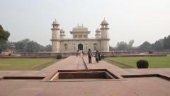 Baby Taj. Indian architecture. The City Of Agra Stock Footage