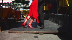 Buenos Aires Tango 13 Stock Footage