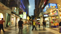 Buenos Aires Street life 41 Stock Footage
