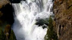 Lower Mesa Falls Stock Footage