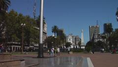 Buenos Aires Street life 48 - stock footage