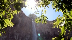 Perrine Coulee Falls Stock Footage