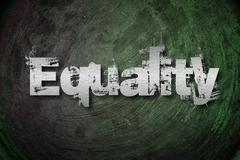 equality concept - stock illustration