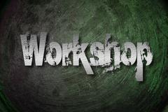 workshop concept - stock illustration