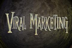 Viral marketing concept Stock Illustration