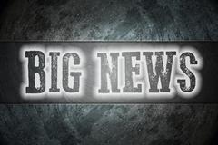 Big news concept Stock Illustration