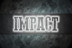 Impact concept Stock Illustration