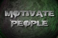 Motivate people concept Stock Illustration