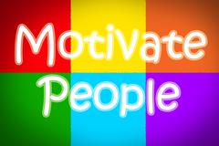 motivate people concept - stock illustration