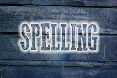Spelling concept Stock Illustration