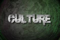 culture concept - stock illustration
