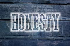 Honesty concept Stock Illustration