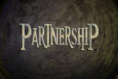 partnership concept - stock illustration