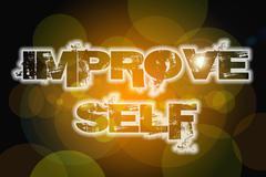 Improve self concept Stock Illustration