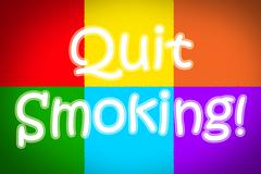 Stock Illustration of quit smoking concept
