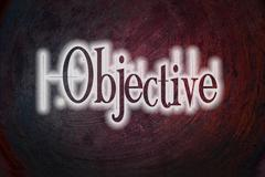 Stock Illustration of objective concept