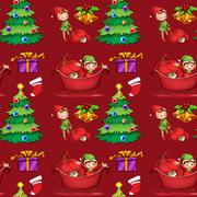 Stock Illustration of Christmas wrapping