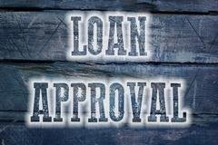 loan approval concept - stock illustration