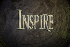 inspire concept - stock illustration