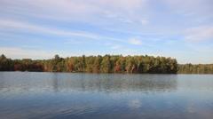 Lake Kayaking Stock Footage