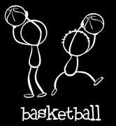 Basketball - stock illustration
