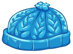 A blue bonnet - stock illustration