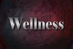 wellness background with text - stock illustration