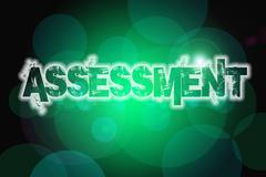 Assessment concept Stock Illustration
