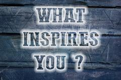 What inspires you concept Stock Illustration