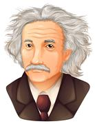 Albert Einstein Stock Illustration