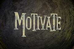 motivate concept - stock illustration