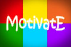 Motivate concept Stock Illustration