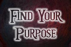 Find your purpose concept Stock Illustration