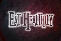 Stock Illustration of eat healthily concept