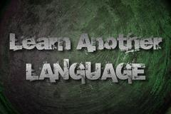 Learn another language concept Stock Illustration