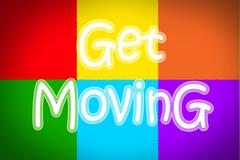 Stock Illustration of get moving concept
