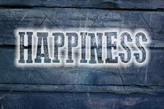 Stock Illustration of happiness concept