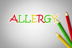 allergy concept - stock illustration
