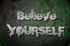 Stock Illustration of believe  yourself concept